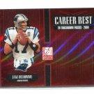 JAKE DELHOMME 2005 Donruss Elite Career Best INSERT #CB-19 Carolina Panthers QB #d/1000