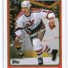 JOHN MacLEAN 1990 Topps #224 Devils