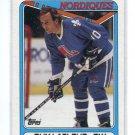 GUY LaFLEUR 1990 Topps #142 Nordiques