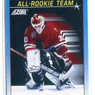 ED BELFOUR 1991 Score All-Rookie Team #378 Chicago Blackhawks