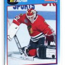 ED BELFOUR 1991 Score #510 Chicago Blackhawks