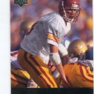 TODD MARINOVICH 2011 UD College Football Legends #66 USC Trojans QB