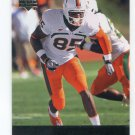 LEONARD HANKERSON 2011 UD College Football Legends #91 ROOKIE Redskins MIAMI CANES Hurricanes