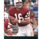 JIM PLUNKETT 2011 UD College Football Legends #63 Raiders STANFORD Cardinal Heisman QB