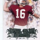 JIM PLUNKETT 2011 UD College Football Legends Bowl Game Heroes INSERT Raiders STANFORD Cardinal QB