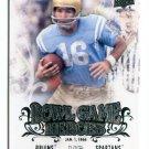 GARY BEBAN 2011 UD College Football Legends Bowl Game Heroes INSERT UCLA Bruins HEISMAN QB