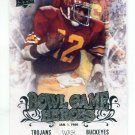 CHARLES WHITE 2011 UD College Football Legends Bowl Game Heroes INSERT Chiefs USC Trojans HEISMAN