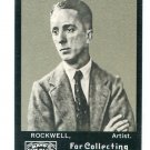 NORMAN ROCKWELL 2008 Topps Mayo #209 Artist