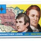 MERIWETHER LEWIS 2009 Topps Heritage #11 Explorer