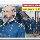 GEORGE MEADE 2009 Topps Heritage #30 Civil War