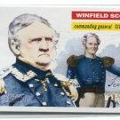 WINFIELD SCOTT 2009 Topps Heritage #25 Civil War