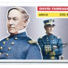DAVID FARRAGUT 2009 Topps Heritage #28 Civil War
