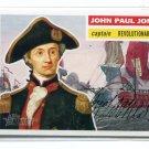 JOHN PAUL JONES 2009 Topps Heritage #21 Revolutionary War