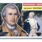 NATHANAEL GREENE 2009 Topps Heritage #29 Revolutionary War