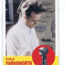 PHILO FARNSWORTH 2009 Topps Heritage #46 Inventors