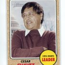 CESAR CHAVEZ 2009 Topps Heritage #57 Civil Rights Leader