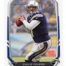 PHILIP RIVERS 2013 Bowman #34 Chargers NORTH CAROLINA NC STATE Wolfpack QB