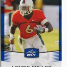 LAMAR MILLER 2012 Leaf Draft BLUE #28 ROOKIE Miami Canes HURRICANES Dolphins RB