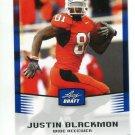 JUSTIN BLACKMON 2012 Leaf Draft BLUE #25 ROOKIE Oklahoma State Cowboys JAGUARS WR