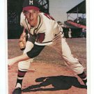 WARREN SPAHN 1982 TCMA 4x6 Jumbo #14 Milwaukeee Braves  HOF