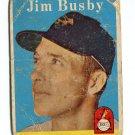 JIM BUSBY 1958 Topps #20 Orioles BV $12
