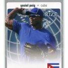 YASIEL PUIG 2012 Leaf Rize World Class #WC-16 INSERT ROOKIE Dodgers