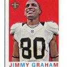 JIMMY GRAHAM 2013 Topps 1959 Mini #37 INSERT Saints MIAMI CANES Hurricanes