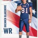 BRENNEN BLAKEMORE 2012 Upper Deck UD USA Football #5 Texas Tech Red Raiders WR