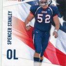 SPENCER STANLEY 2012 Upper Deck UD USA Football #44 Rice Owls OL