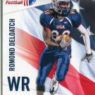 ROMAND DELOATCH 2012 Upper Deck UD USA Football #38 Temple Owls TE