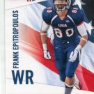 FRANK EPITROPOULOS 2012 Upper Deck UD USA Football #17 Ohio State Buckeyes WR