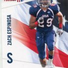 ZACH ESPINOSA 2012 Upper Deck UD USA Football #49 Rice Owls SAFETY