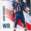 ANDRE McDONALD 2012 Upper Deck UD USA Football #3 Kansas State Wildcats TE