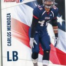 CARLOS MENDOZA 2012 Upper Deck UD USA Football #10 Arizona Sate Sundevils LB