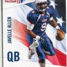JAVELLE ALLEN 2012 Upper Deck UD USA Football #30 Arizona Wildcats QB