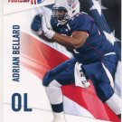 ADRIAN BELLARD 2012 Upper Deck UD USA Football #1 Texas State OL