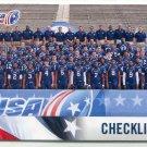TEAM CHECKLIST 2012 Upper Deck UD USA Football #50
