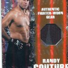 RANDY COUTURE 2010 Topps UFC Fighter-Worn GEAR #d/88