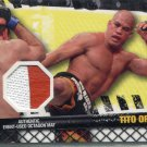 TITO ORTIZ 2010 Topps UFC Event-Used Octagon MAT RELIC