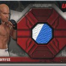 TITO ORTIZ 2013 Topps UFC Event-Used Octagon MAT RELIC #d/188