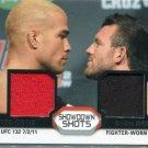 TITO ORTIZ / RYAN BADER 2011 Topps UFC Fighter-Worn GEAR