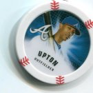 B.J. BJ UPTON 2013 Topps MLB Chipz Atlanta Braves