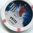 DAVID PRICE 2013 Topps MLB Chipz RAYS