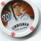 RYAN ZIMMERMAN 2013 Topps MLB Chipz Washington Nationals