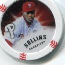 JIMMY ROLLINS 2013 Topps MLB Chipz Philadelphia Phillies