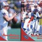 STEVE MATTHEWS / DERRICK MASON 1999 Pacific #404 Oilers TITANS Michigan State QB