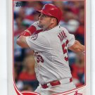 MATT ADAMS 2013 Topps Update #US4 ROOKIE St. Louis Cardinals SLIPPERY ROCK