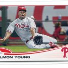 DELMON YOUNG 2013 Topps Update #US242 Philadelphia Phillies