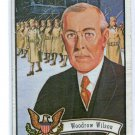 President WOODROW WILSON 1972 Toppps US U.S. Presidents #27