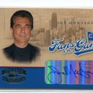 JOE MONTEGNA 004 Donruss Throwback Threads AUTO #FG-3 Cubs CRIMINAL MINDS CBS